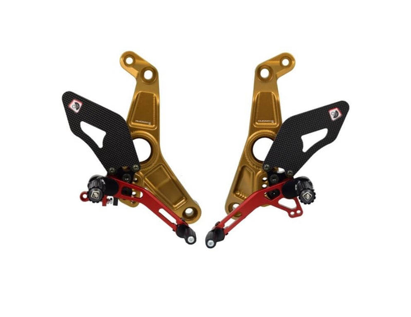 Ducabike Adjustable Rearsets 2017+ Ducati Monster 1200/S, 2018+ Monster 821 & Supersport