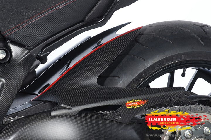 ILMBERGER Carbon Fiber Rear Hugger 2011-2012 Ducati Diavel