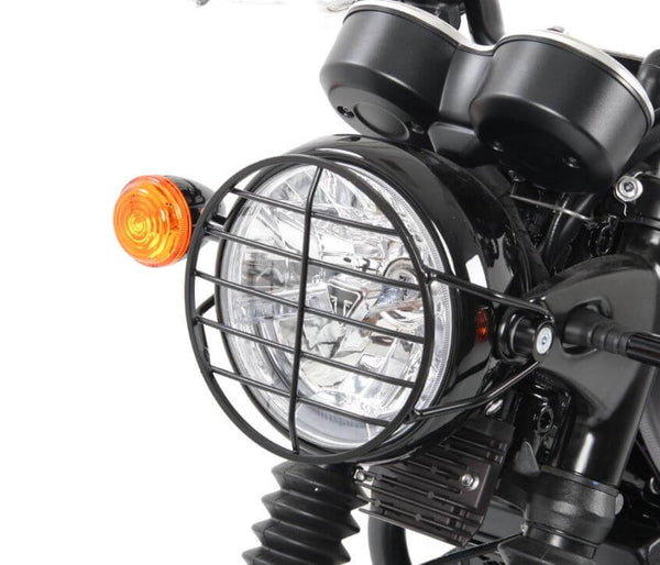 Hepco & Becker Lamp Guard for '16- Triumph Bonneville T120