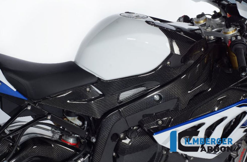 ILMBERGER Carbon Fiber Tank Side Panel (Right) 2009-2014 BMW S1000RR/HP4
