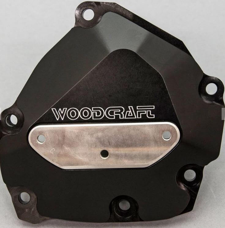 WoodCraft Right Side Engine Cover (Ignition) '09-'14 Yamaha YZF-R1