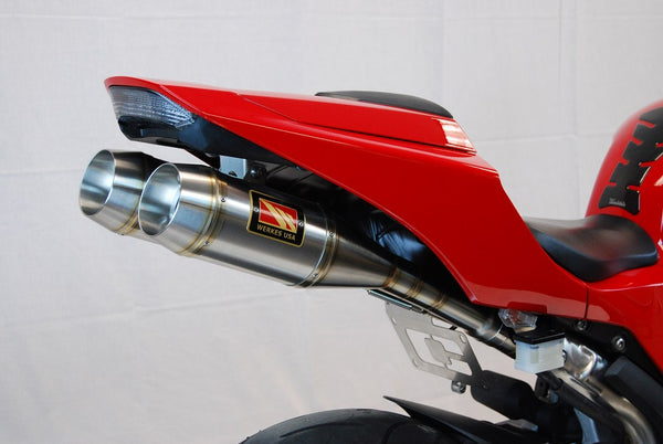 Competition Werkes Dual GP Stainless Steel Slip-on Exhaust System 2013-2014 Honda CBR600RR
