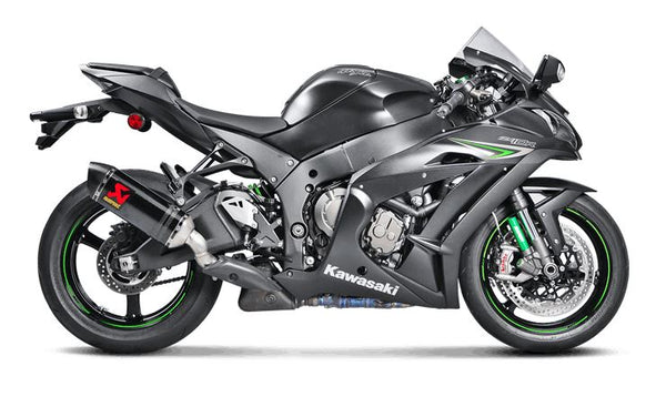 Akrapovic Slip-On Line (Carbon) Exhaust System 2016-2017 Kawasaki Ninja ZX10R | S-K10SO16-HZC