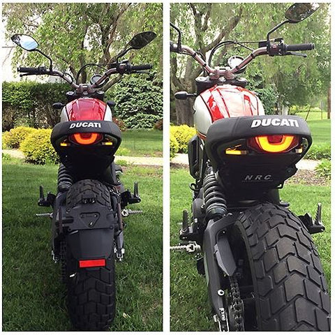 New Rage Cycles Fender Eliminator Kit for 2015+ Ducati Scrambler Classic/Icon/Urban Enduro/Full Throttle