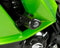 R&G Racing Aero No-Cut Frame Sliders for 2011-2012 Kawasaki Z1000SX (Ninja 1000)