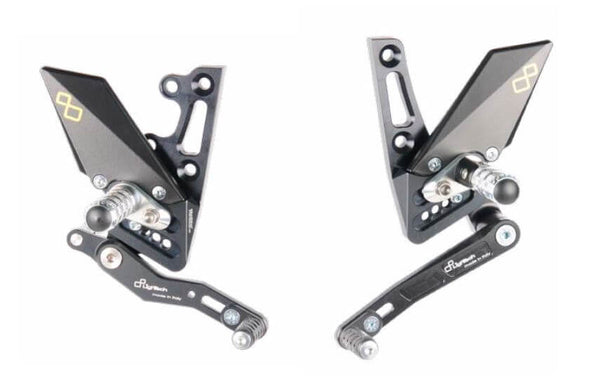 LighTech Track-System Rearsets 2011-2018 Triumph Speed Triple / R 1050