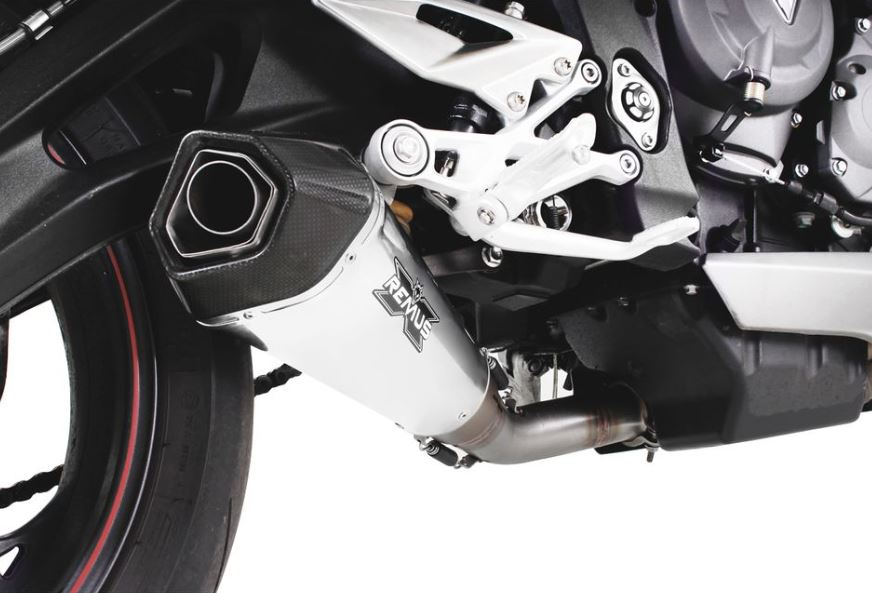 Remus Hypercone Slip On Exhaust System For 2017 2018 Triumph Street