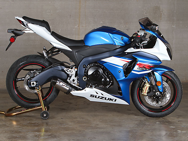 M4 Street Slayer Polished Full Exhaust System 2012-2015 Suzuki GSXR 1000