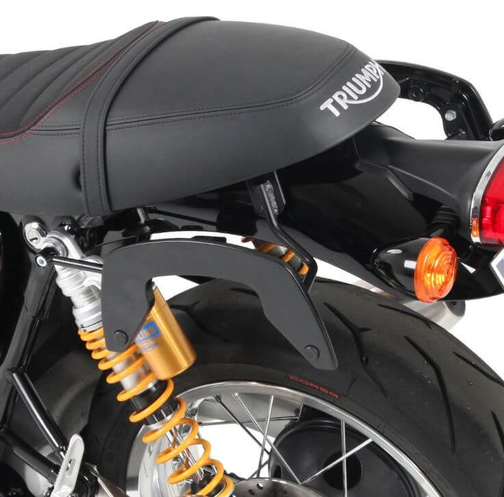 Hepco & Becker C-Bow Carrier for '16-'17 Triumph Thruxton/R - Black