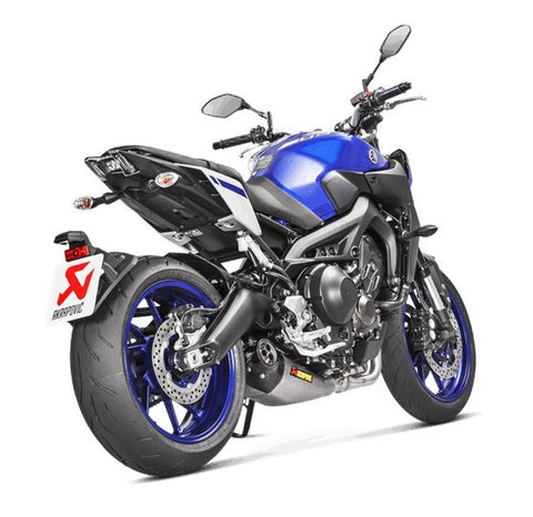 Akrapovic Racing Line (Titanium) Full Exhaust System '14-'18 Yamaha FZ-09/MT-09, '15-'18 FJ-09 - EC Type Approved | S-Y9R8-HEGEHT