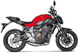 Akrapovic Racing Line (Titanium) Full Exhaust Systems 2014-2017 Yamaha FZ-07 / MT-07 | S-Y7R1-HAFT