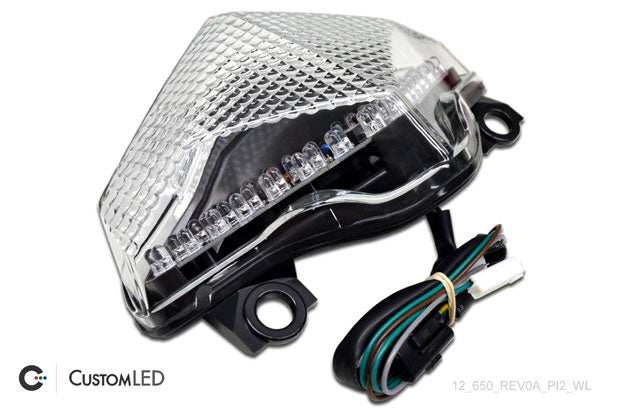 Custom LED Blaster-X Integrated LED Tail Light - Complete Unit for '12-'16 Kawasaki Ninja 650