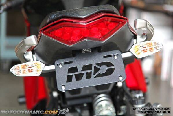 Motodynamic Fender Eliminator for '17-'19 Kawasaki Ninja 1000