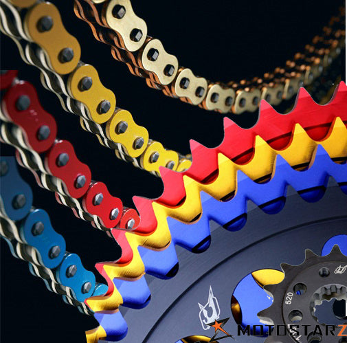 Driven Racing 520 Conversion Chain & Sprocket Kits