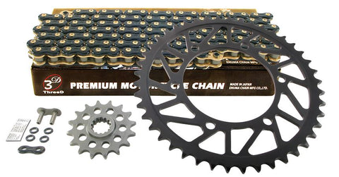 Drive Systems Superlite RS8-R 520 Conversion Alloy Race Sprocket Set for 2015 Yamaha YZF R1/R1M - EK 3D Chain