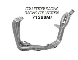 ARROW Stainless Steel Racing Headers w/Non Catalyzed Midpipes 2009-2012 Yamaha R1 (71398MI)