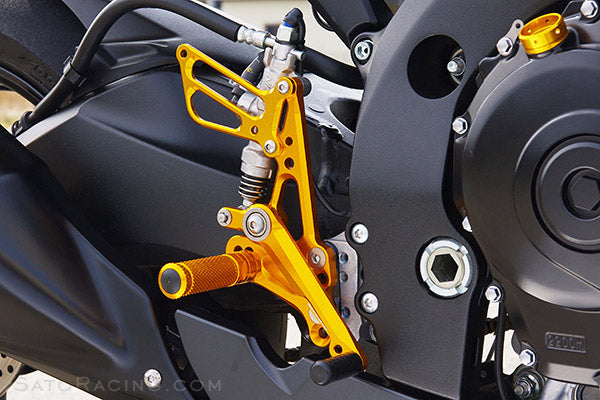 Sato Racing Adjustable Rearsets 2011-2015 Suzuki GSX-R 600/750