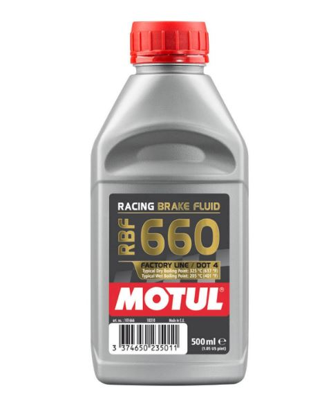 Motul RBF 660 Factory Line DOT 4 Brake Fluid 500ml
