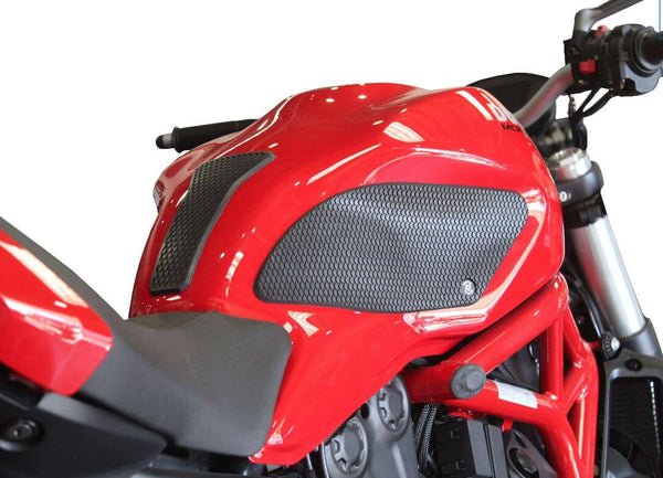 TechSpec Snake Skin Tank Grip Pads 2017+ Ducati Monster 797, 1200S