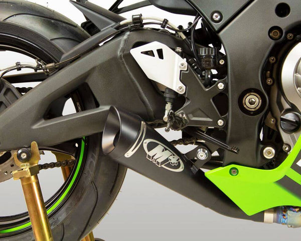 M4 Black GP19 Slip-on Exhaust '16-'20 Kawasaki ZX10R