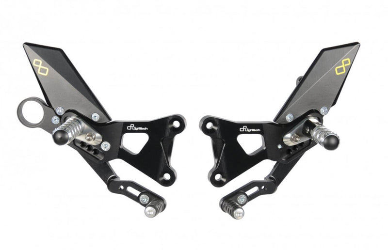 LighTech Track System Rearsets '09-'14 BMW S1000RR, '14-'16 S1000R | Standard Shift