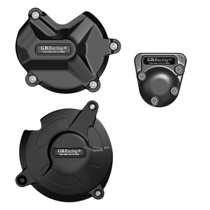 GB Racing Engine Cover Set '17-'18 BMW S1000RR, '17-'20 S1000R, '15-'20 S1000XR
