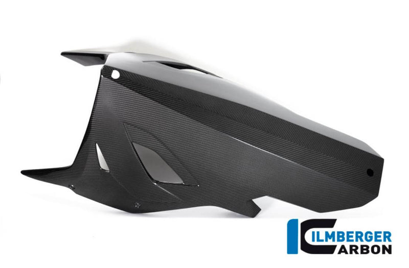ILMBERGER Carbon Fiber Belly Pan for Full Racing Exhaust '19-'20 BMW S1000RR