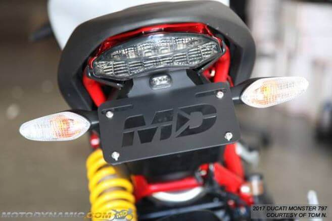 Motodynamic Fender Eliminator 2017-2020 Ducati Monster 797