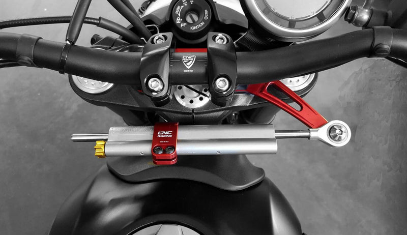 CNC Racing Streering Damper Mouting Kit '15-'20 Ducati Scrambler 800