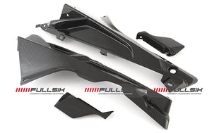 FullSix Elite Series Carbon Fiber Airduct Fairing Covers 2009-2014 BMW S1000RR/HP4