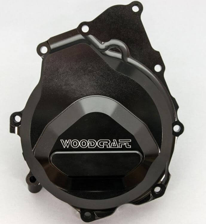 WoodCraft Left Side Engine Cover (Stator) '06-'19 Yamaha YZF-R6
