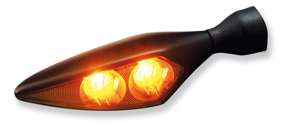Kellermann Micro Rhombus Dark - LED Turn Signal w/ Dark Lens (Each)