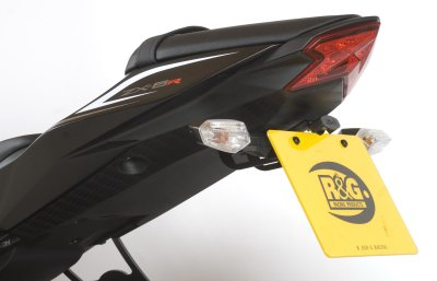 R&G Racing Tail Tidy / License Plate Holder '08-'10 Kawasaki ZX-10R, '09-'18 ZX-6R