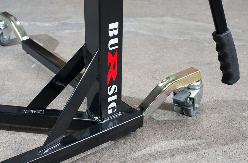 Bursig Center-Lift Stand (Adapter Plate Included)