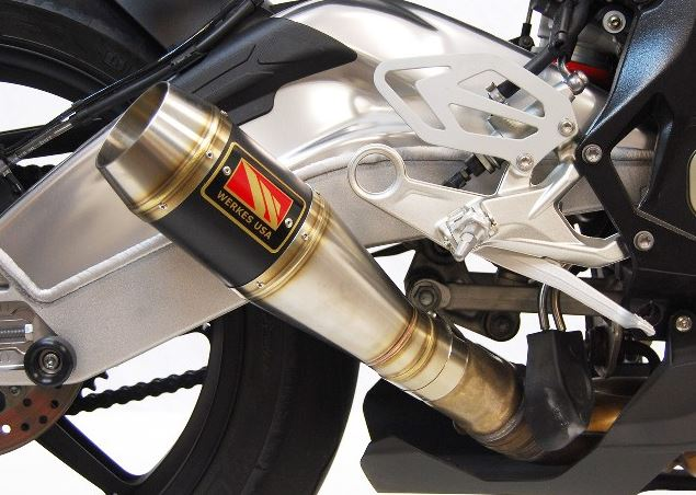 Competition Werkes GP Stainless Steel Slip-on Exhaust 2015-2016 BMW S1000RR