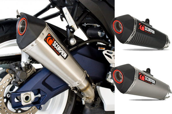 Scorpion Serket Taper Slip-on Exhaust System 2011-2012 Suzuki GSX-R 600/750