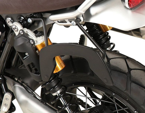 Hepco & Becker Black Left Side Only C-Bow Carrier for 2019- Triumph Scrambler 1200