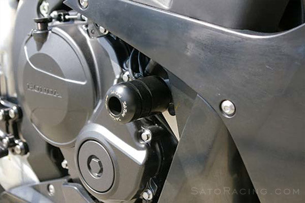 Sato Racing No-Cut Frame Sliders for 2007-2008 Honda CBR600RR