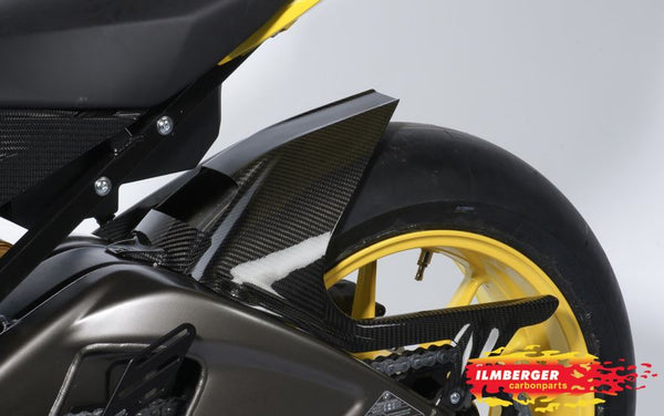 ILMBERGER Rear Hugger w/Chain Guard w.ABS for '10-'17 BMW S1000RR/HP4, '14-'17 S1000R