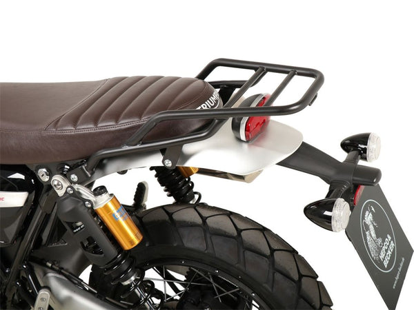 Hepco & Becker Black Rear Rack  for 2019- Triumph Scrambler 1200