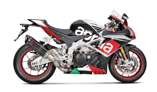 Akarapovic Slip On Line (Carbon) EC Type Approved Exhaust System 2015-2016 Aprilia RSV4 | S-A10SO7-HRC
