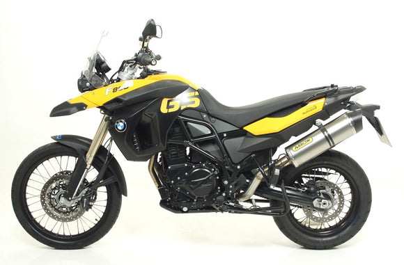 ARROW Maxi Race-Tech Slip-Ons Exhaust Systems For 2008-2014 BMW F800GS/Adventure