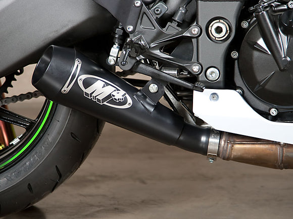 M4 GP Black Slip-on Exhaust System 2008-2010 Kawasaki ZX10R