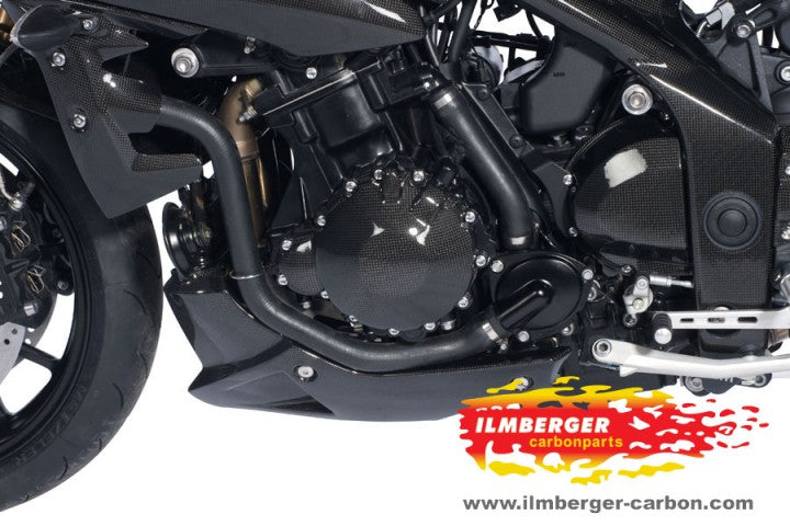 ILMBERGER Carbon Fiber Engine Cover (Alternator) 2011-2012 Triumph Speed Triple / R 1050