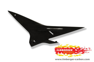 ILMBERGER Carbon Fiber Underseat Panel Left Side 2009-2011 Aprilia RSV4 / R