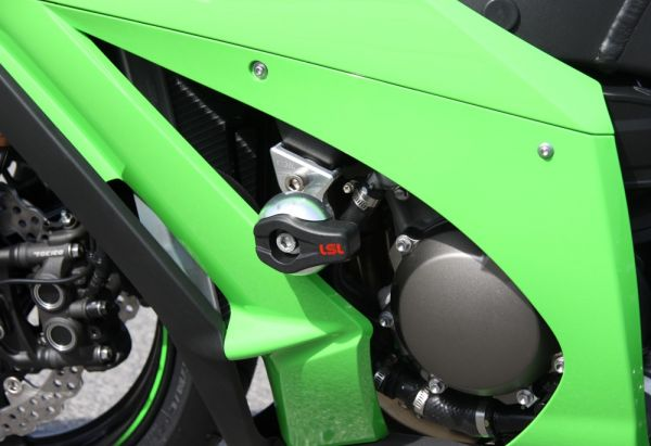 Spiegler LSL Frame Slider Kit for 2011-2013 Kawasaki ZX10R