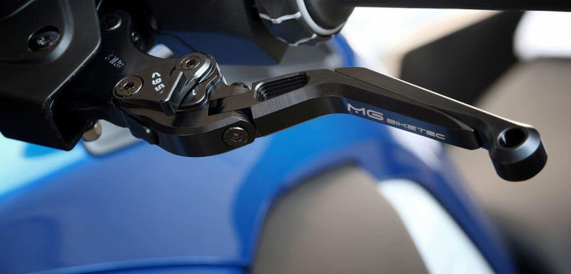 MG BikeTec Foldable/Extendable Brake & Clutch Levers '13-'20 R1200GS/'15-'20 R1200GS ADV