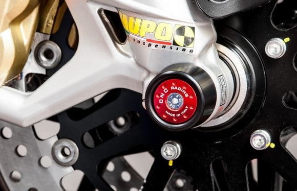 CNC Racing Front Axle Sliders for Ducati