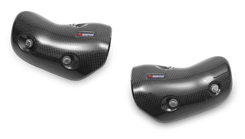 Akrapovic Carbon Fiber Heat Shield Set For 2014-2015 Kawasaki Z1000 / SX