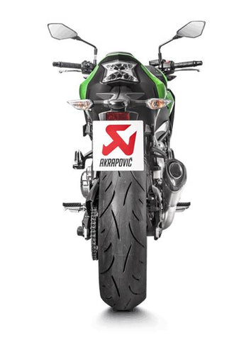 Akrapovic Slip-On Line (Titanium) Exhaust 2017-2018 Kawasaki Z900 | S-K9SO4-ASZT